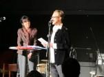 Brevnovellers Jens Klitgaard samtalar med radiojournalisten Gun Ekroth