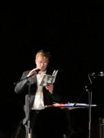 Mats Kempe läser ur sin novell
