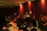Publik under kvällen