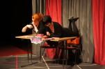 """Alexandra Drotz-Ruhn och My Vingren framför Spoken Word-pjäsen """"Riktiga flickors armé"""""""