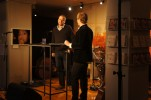 Eric Ericson intervjuas av Brevnovellers Jens Klitgaard