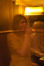 Caroline Odén sjunger Jazz, spöklik bild, är undergången närmre än vi tror?