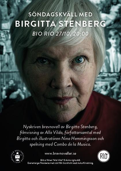Birgitta Stenberg flyer