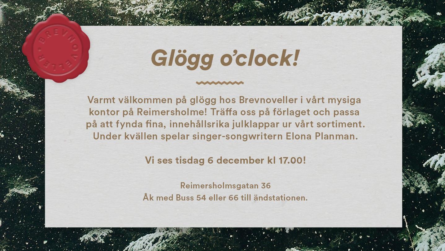 Glögg o´ clock
