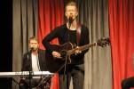 """Christoffer Englund, """"The Ginger"""", Martin Ekman på klaviatur"""