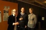 Jens Klitgaard, Eric Ericson och Åsa Eklöf